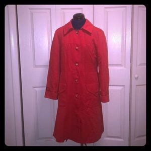 1970's Forecaster of Boston VINTAGE Trench Coat